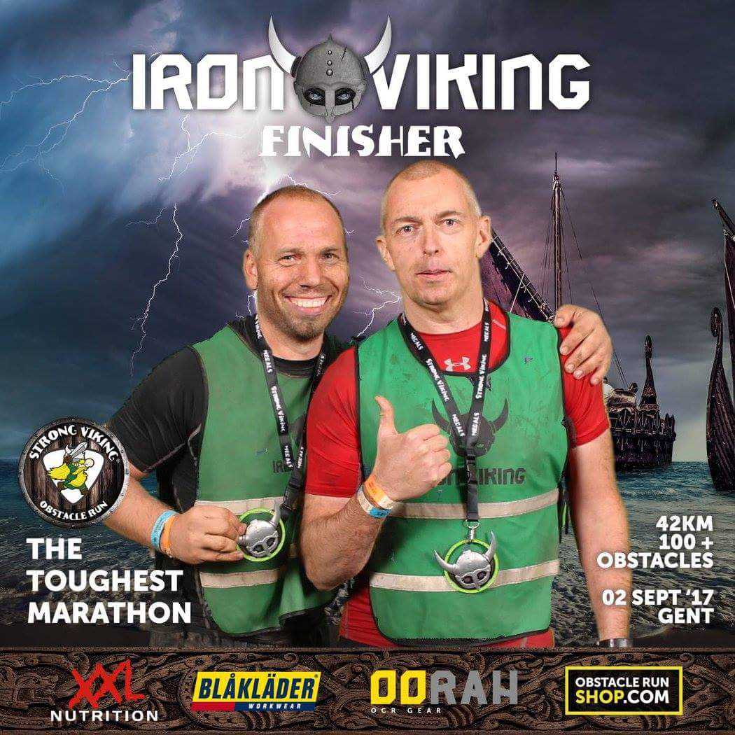Iron Viking, Team Up40